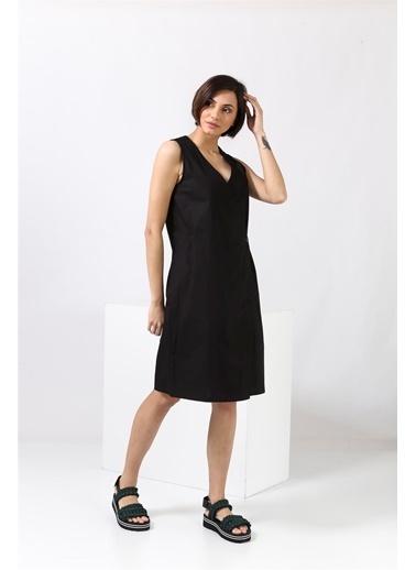 Parthenis Elbise Siyah